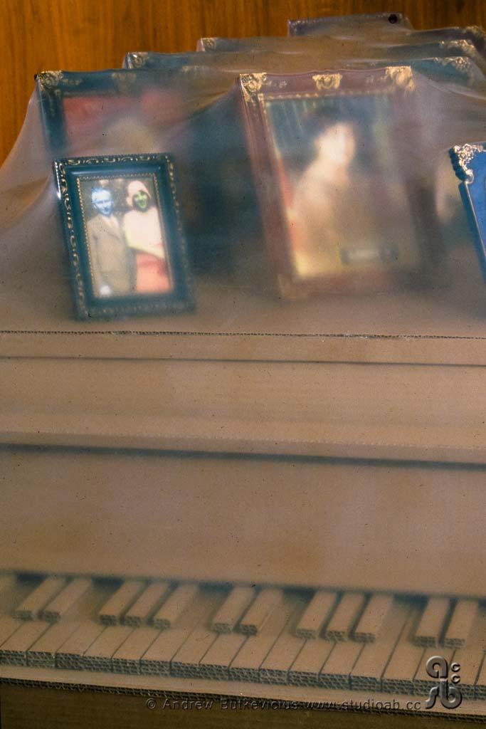 Cardboard Piano - Detail
